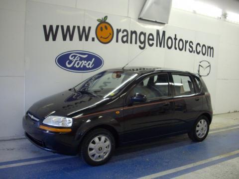 on 2004 Chevrolet Aveo Hatchback Black