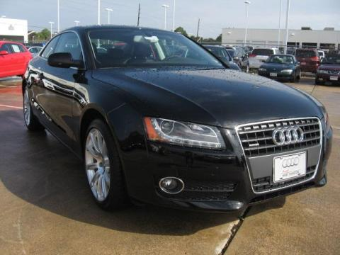 Audi A5 2011 Black. Brilliant Black 2011 Audi A5