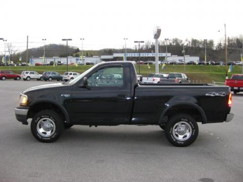used 2000 ford f150 xl regular cab 4x4 for sale stock. Black Bedroom Furniture Sets. Home Design Ideas