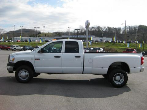 used 2007 dodge ram 3500 st quad cab 4x4 dually for sale stock b10184a. Black Bedroom Furniture Sets. Home Design Ideas