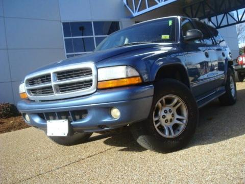 Used 2001 dodge durango slt 4x4 for sale stock p5639a Tysinger motor company
