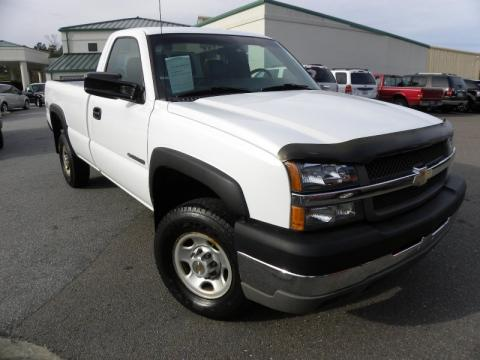 used 2004 chevrolet silverado 2500hd regular cab 4x4 for sale stock 1921a. Black Bedroom Furniture Sets. Home Design Ideas
