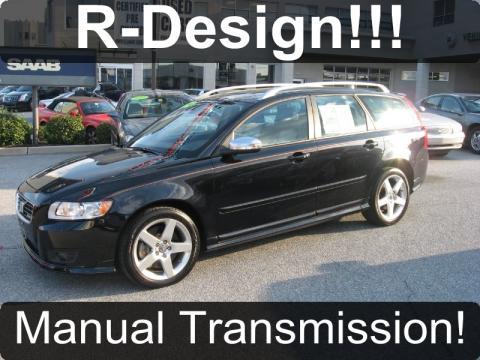 used 2010 volvo v50 t5 r design for sale stock cc0227a dealer car ad 41237561. Black Bedroom Furniture Sets. Home Design Ideas