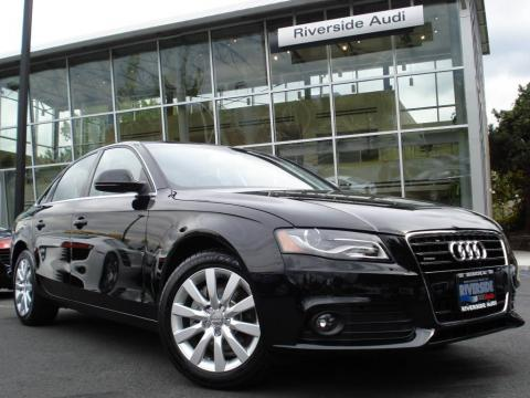 Brilliant Black 2009 Audi A4 3.2 quattro Sedan with Black interior Brilliant