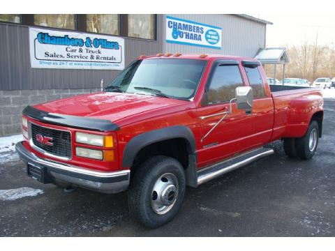 Used 1997 GMC Sierra 3500 SLE Extended Cab 4x4 Dually for Sale - Stock