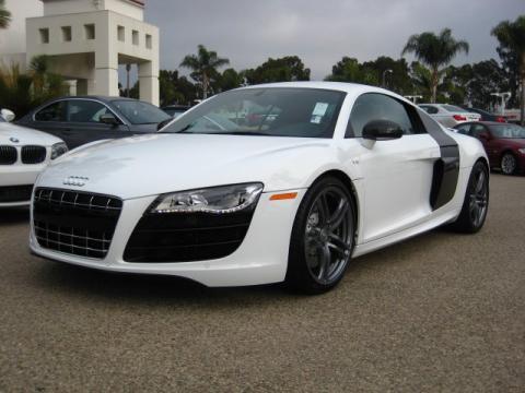 White Audi R8 Black Rims. white you Audi+r8+2011+
