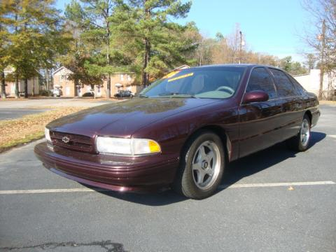 used 1996 chevrolet impala ss for sale stock 2835. Black Bedroom Furniture Sets. Home Design Ideas