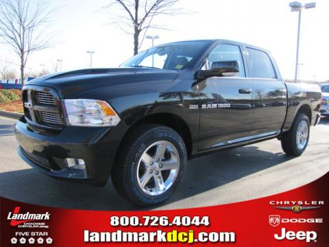 new 2011 dodge ram 1500 sport crew cab for sale stock. Black Bedroom Furniture Sets. Home Design Ideas