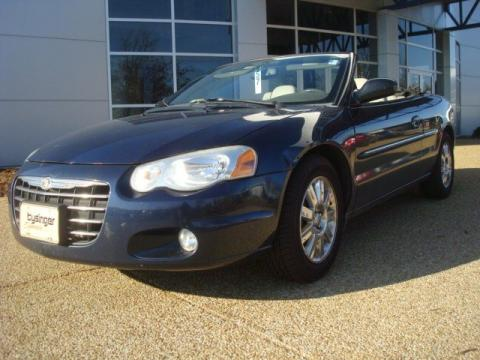 Used 2005 chrysler sebring limited convertible for sale Tysinger motor company
