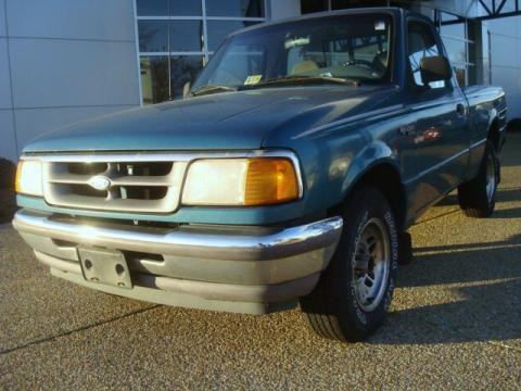 Used 1995 ford ranger xl regular cab for sale stock Tysinger motor company