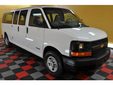 used 2003 chevrolet express 3500 extended cargo van for sale stock 123997. Black Bedroom Furniture Sets. Home Design Ideas