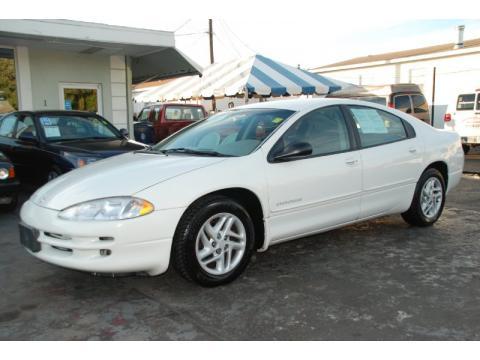 Stone White Dodge Intrepid