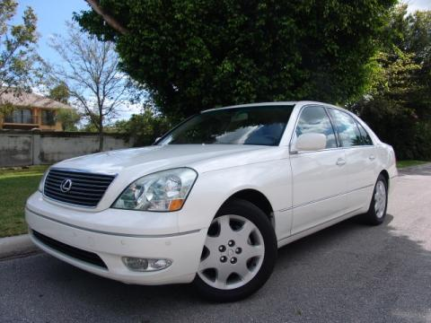 used 2003 lexus ls 430 sedan for sale stock 102575. Black Bedroom Furniture Sets. Home Design Ideas