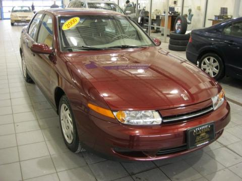 Dark Red Saturn L Series LS1 Sedan.  Click to enlarge.