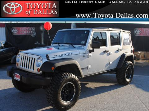 Dallas Toyota Dealers >> Used 2008 Jeep Wrangler Unlimited Rubicon 4x4 for Sale - Stock #8L548559 | DealerRevs.com ...