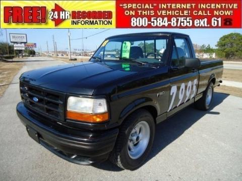 Used 1993 Ford F150 Svt Lightning For Sale Stock