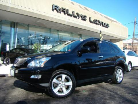 Black Onyx 2008 Lexus RX 350 AWD with Black interior Black Onyx Lexus RX 350