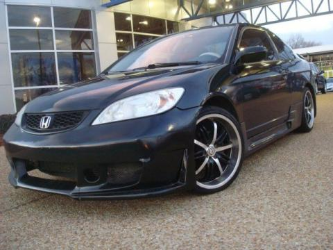 used 2005 honda civic ex coupe for sale stock mb0408b. Black Bedroom Furniture Sets. Home Design Ideas