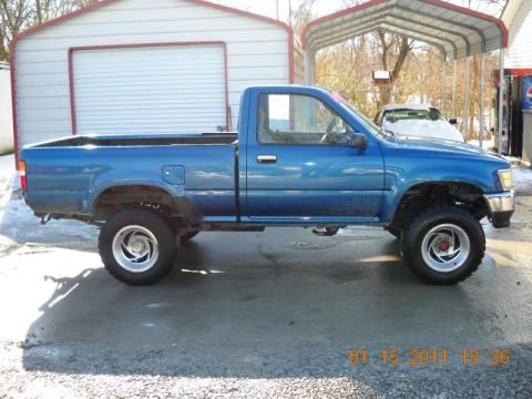 Used 1993 toyota pickup deluxe regular cab 4x4 for sale - 1993 toyota pickup interior parts ...
