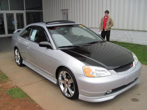 used 2002 honda civic ex coupe for sale stock t2l110128 dealer car ad. Black Bedroom Furniture Sets. Home Design Ideas