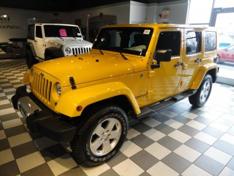 New 2011 Jeep Wrangler Unlimited Sahara 4x4 For Sale