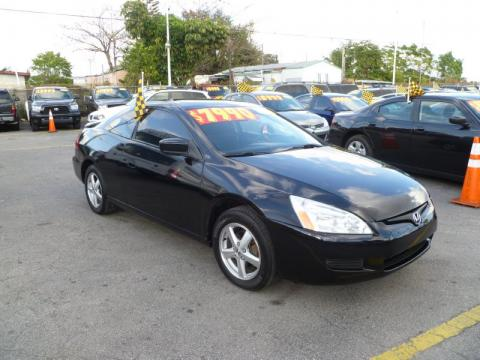 Used 2005 honda accord ex coupe for sale stock 4329 for 2005 honda accord black