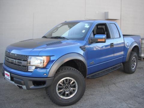 ford raptor 2011 blue. Blue Flame Metallic 2011 Ford