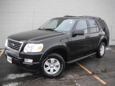 used 2010 ford explorer xlt 4x4 for sale stock 14175r dealer car ad 43723713. Black Bedroom Furniture Sets. Home Design Ideas