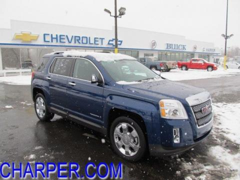 Blue Gmc Terrain 2010. Atlantic Blue Metallic 2010 GMC Terrain SLT AWD with Jet Black interior
