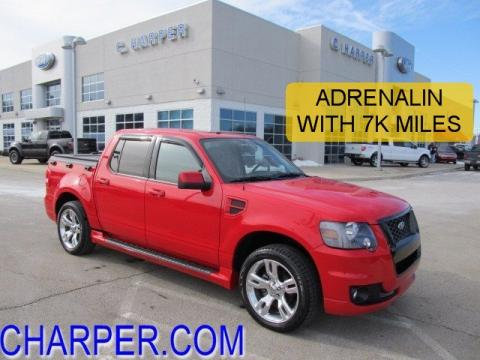 used 2008 ford explorer sport trac adrenalin 4x4 for sale stock ft45917a. Black Bedroom Furniture Sets. Home Design Ideas