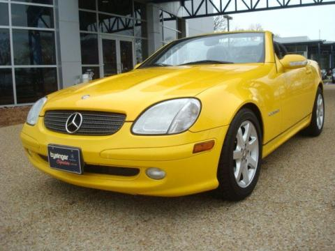 Used 2001 mercedes benz slk 230 kompressor roadster for Tysinger motor company