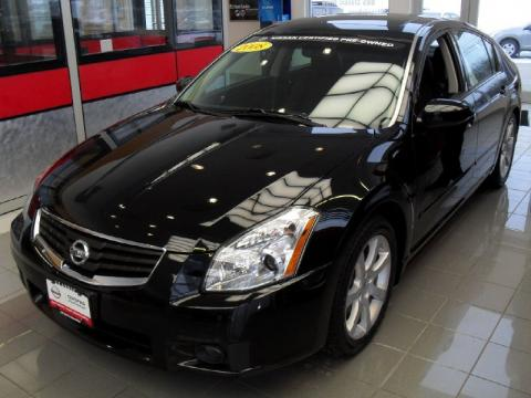 Used 2008 Nissan Maxima 35 Se For Sale Stock X14485a