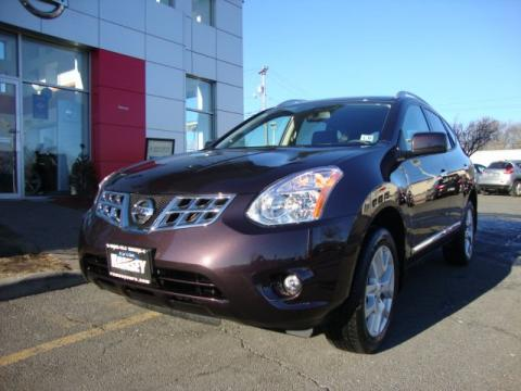 Black Amethyst 2011 Nissan Rogue SL AWD with Black interior Black Amethyst