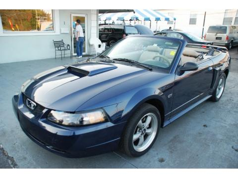 used 2002 ford mustang gt convertible for sale stock 2674 dealer car ad. Black Bedroom Furniture Sets. Home Design Ideas
