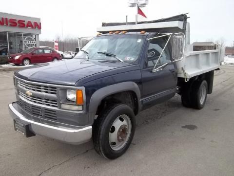 used 1994 chevrolet c k 3500 regular cab 4x4 dump truck for sale stock 811181b dealerrevs. Black Bedroom Furniture Sets. Home Design Ideas