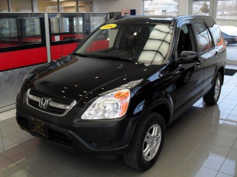 used 2004 honda cr v ex 4wd for sale stock x14472a dealer car ad 45395633. Black Bedroom Furniture Sets. Home Design Ideas