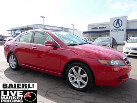 Baierl Acura on Used 2004 Acura Tsx Sedan For Sale   Stock  5p2469a   Dealerrevs Com