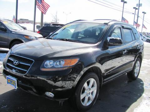 used 2007 hyundai santa fe limited 4wd for sale stock. Black Bedroom Furniture Sets. Home Design Ideas