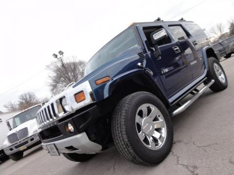 Limited Edition Ultra Marine Hummer H2 SUV.  Click to enlarge.
