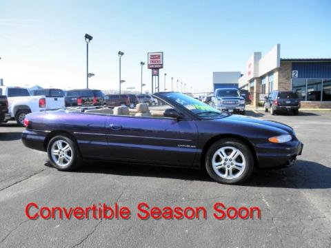 Used 1997 Chrysler Sebring JXi Convertible for Sale ...