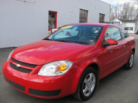 2007 Chevrolet Cobalt Coupe. Victory Red 2007 Chevrolet Cobalt LT Coupe with Gray interior Victory Red Chevrolet Cobalt LT Coupe. Click to enlarge.