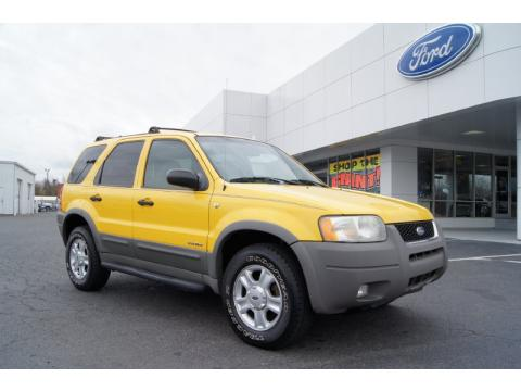 Cloninger Ford Salisbury >> Used 2001 Ford Escape XLT V6 4WD for Sale - Stock #F10556A ...