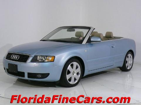 Audi A4 Cabriolet For Sale. Audi A4 1.8T Cabriolet