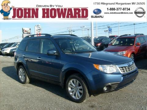 New 2011 subaru forester 2 5 x limited for sale stock for John howard motors morgantown wv