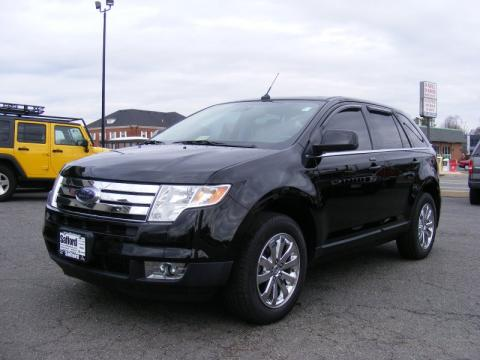 Black Ford Edge Limited.  Click to enlarge.