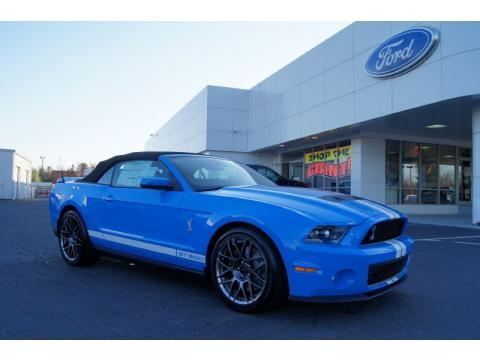 2011 Ford Mustang Shelby Gt500 Convertible Popular Car