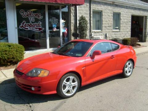 2003 Hyundai Tiburon Gt Interior. Rally Red 2003 Hyundai Tiburon GT V6 with Black interior Rally Red Hyundai