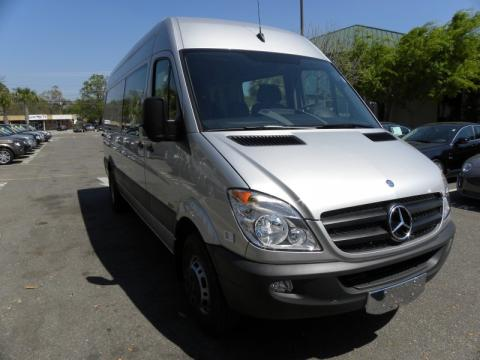 Used 2011 mercedes benz sprinter 3500 high roof cargo van for Mercedes benz cargo van for sale