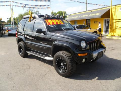 used 2003 jeep liberty renegade 4x4 for sale stock 4475 dealer car ad. Black Bedroom Furniture Sets. Home Design Ideas