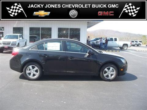 Black Granite Metallic Chevrolet Cruze LT.  Click to enlarge.